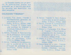 Impulsamos la edición de la Colección Tresnak