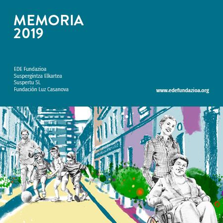 Memoria 2019 EDE Fundazioa Suspertu Luz Casanova